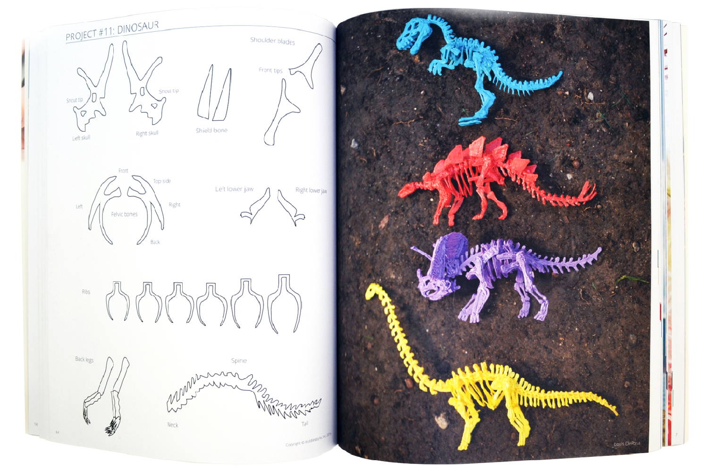 Książka projektów 3D do długopisu 3Doodler