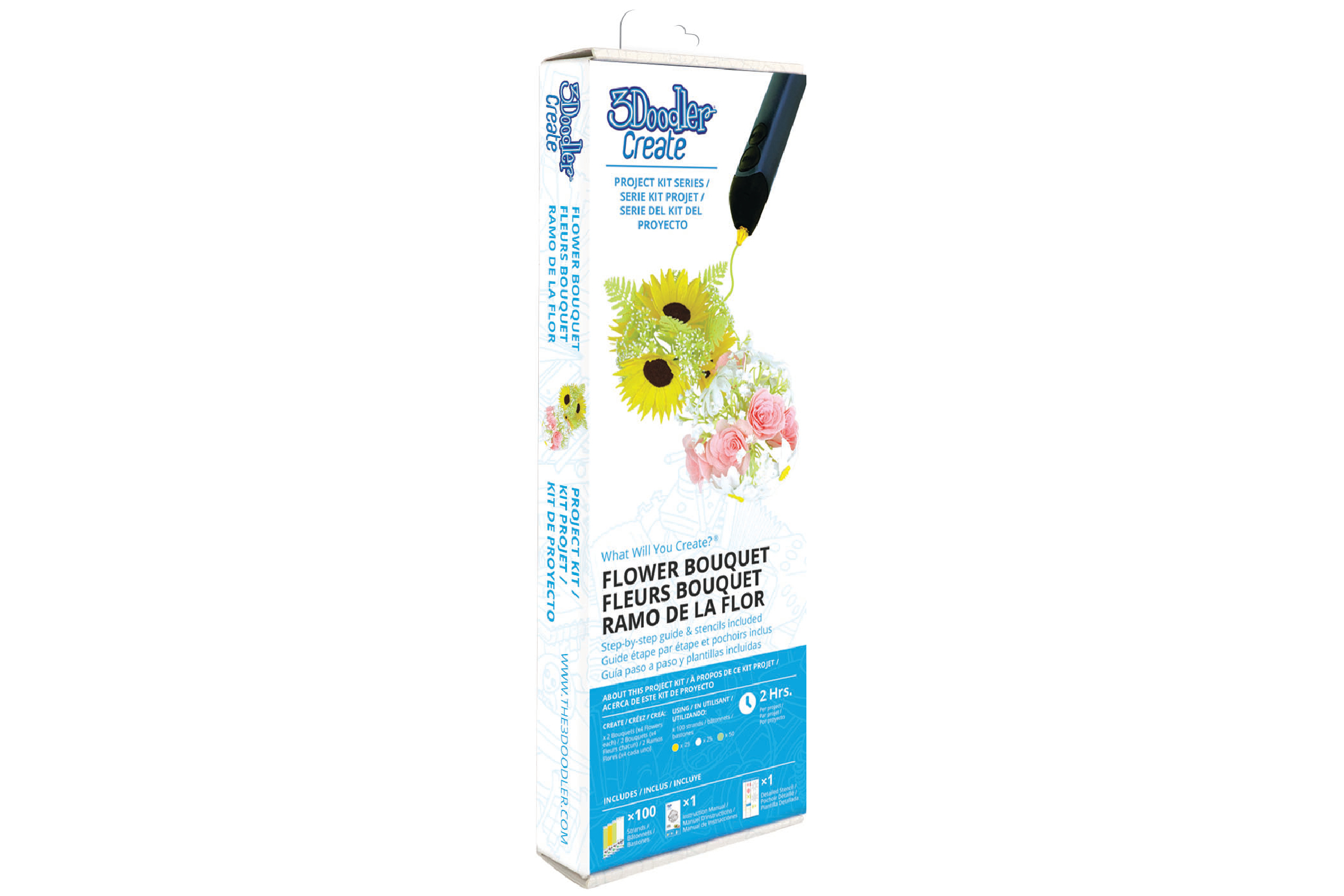 3Doodler Create Project Kit Flower Bouquet