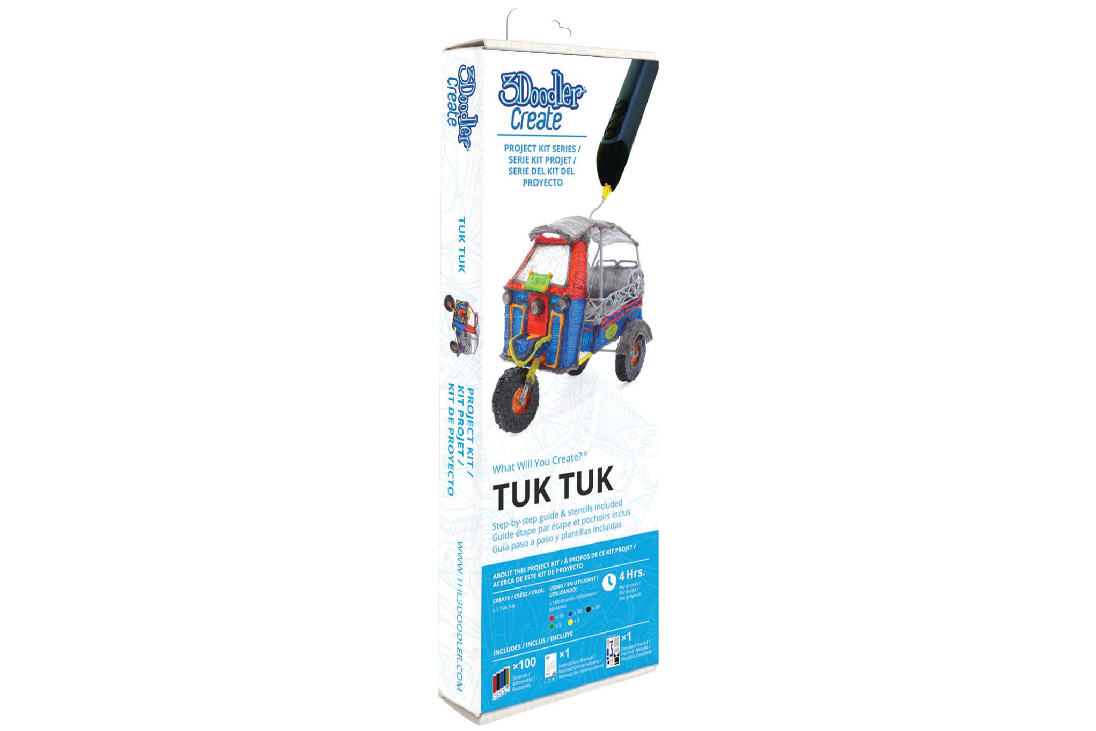 3Doodler Create Project Kit Tuk Tuk