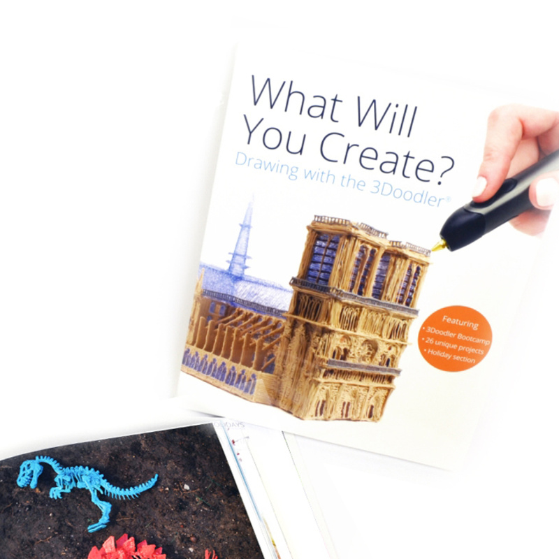3Doodler Book, book of projects