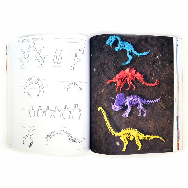 3Doodler Book, książka projektów, język angielski