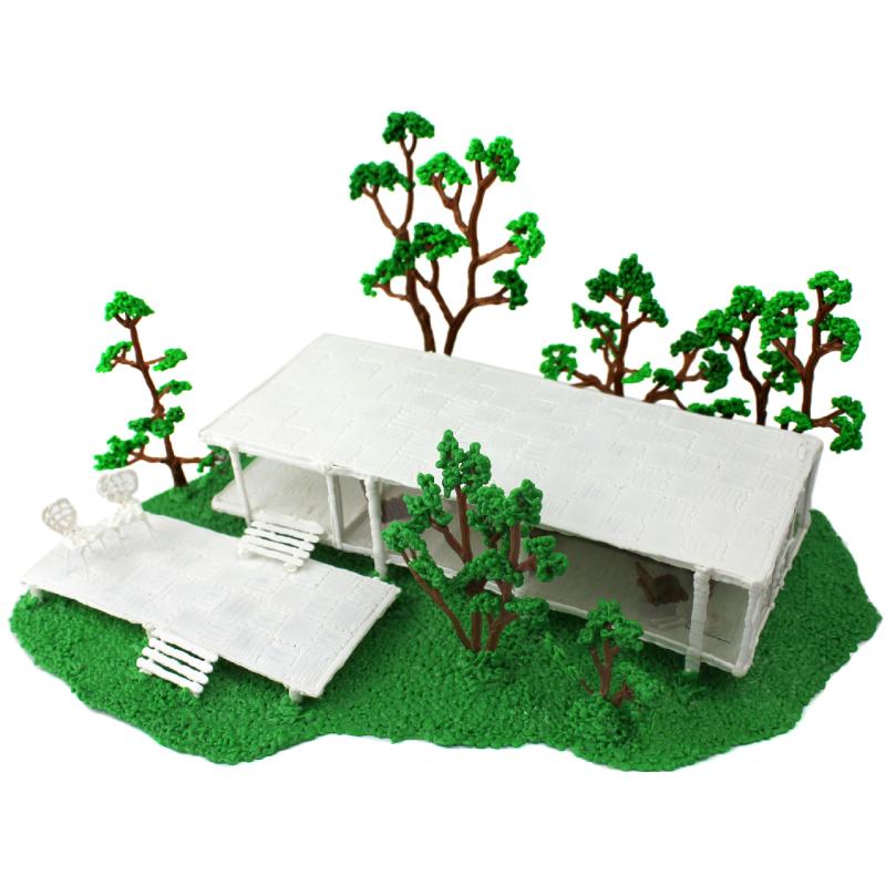 Farnsworth House szablon