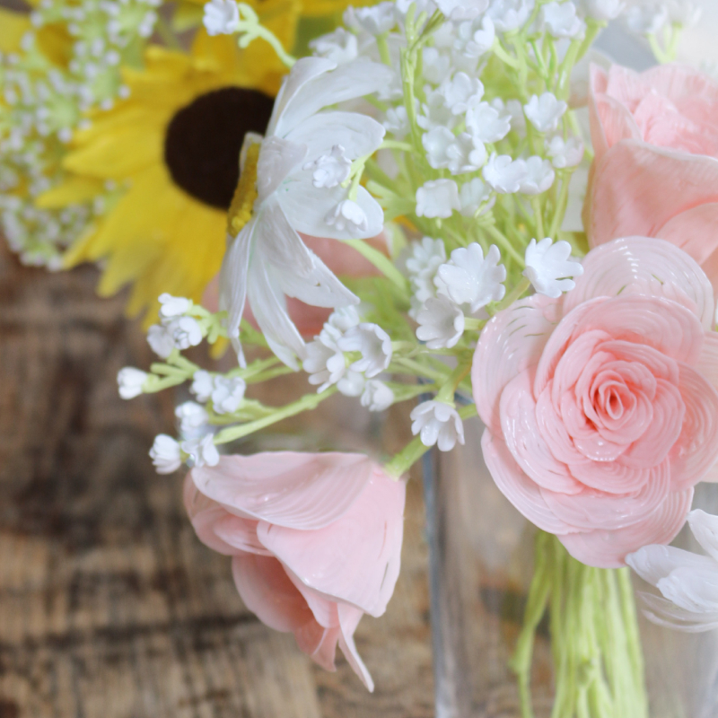 Flower Bouquet szablon