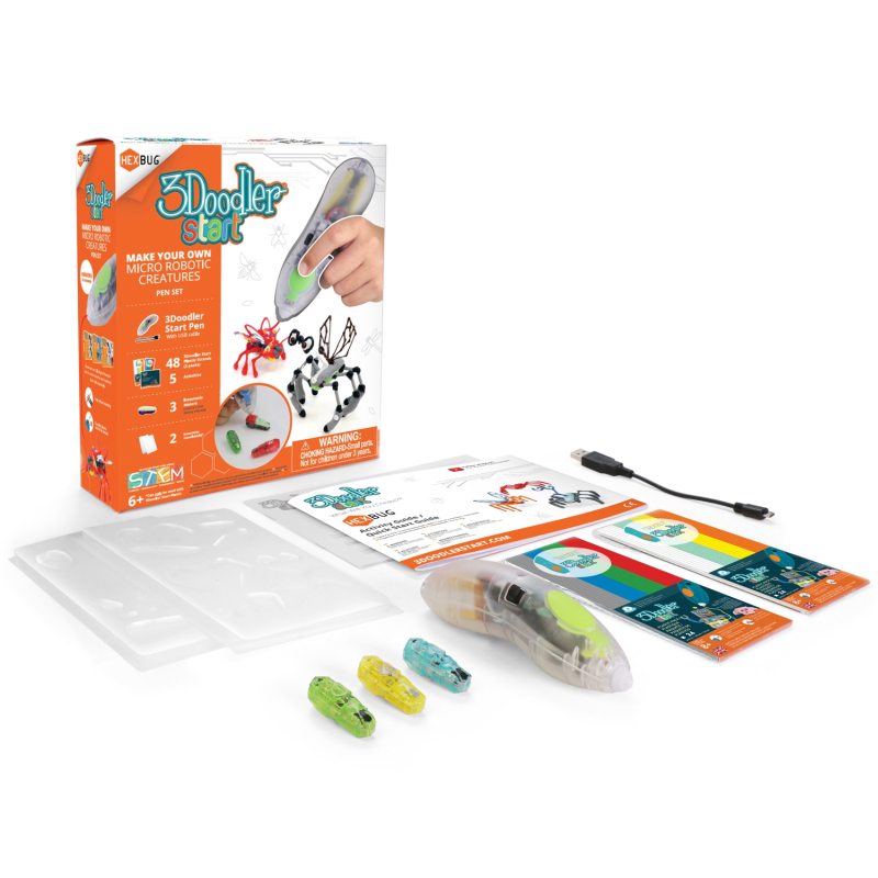 3Doodler Start HEXBUG Set