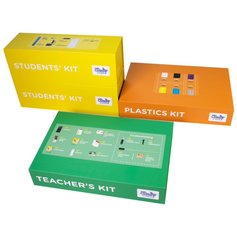 3Doodler Create Plus Zestaw edukacyjny