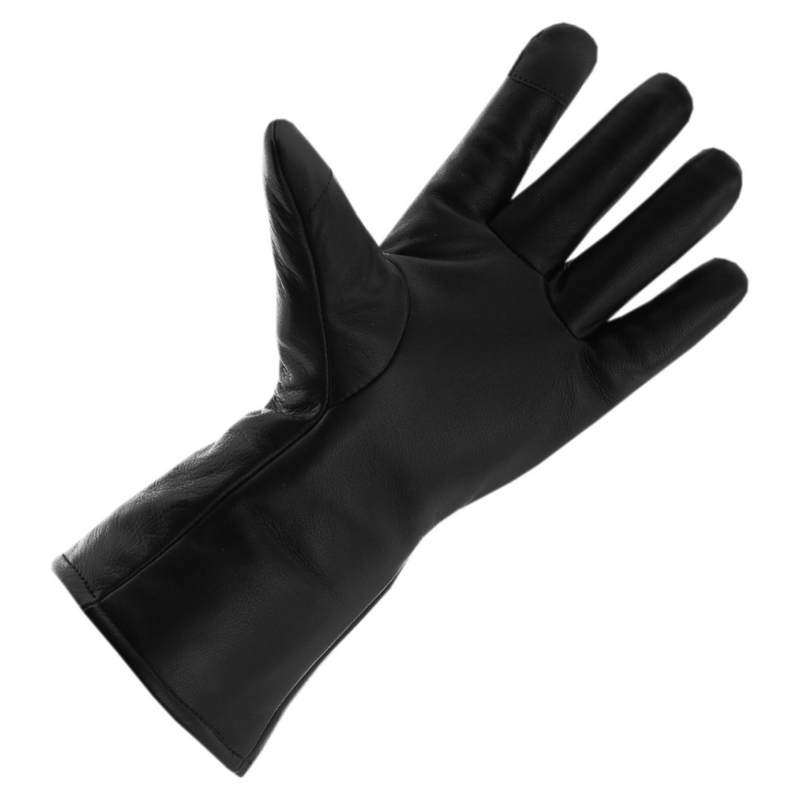 Ogrzewane rękawice skórzane