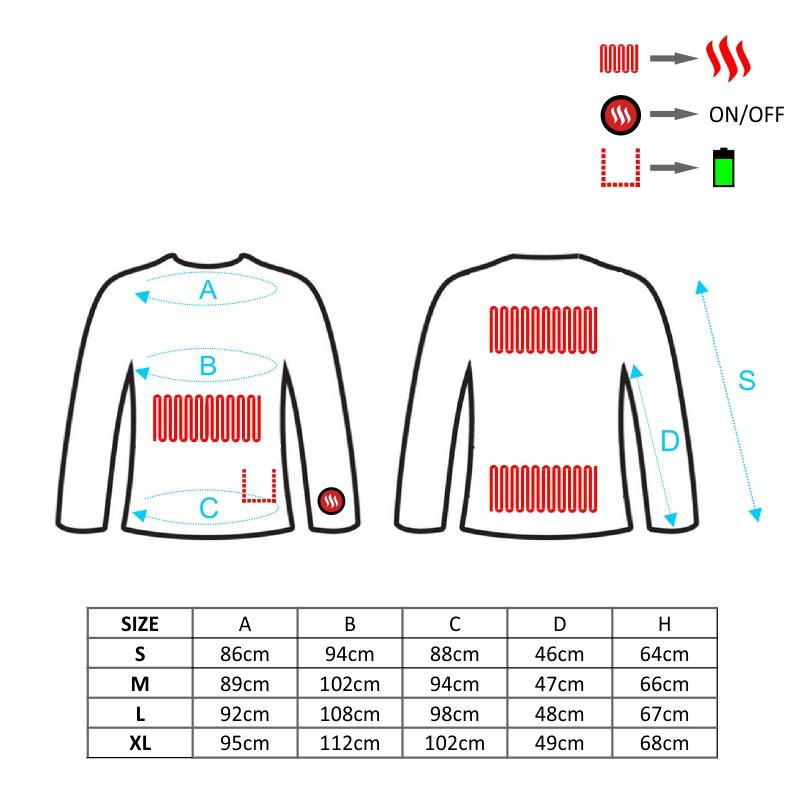 Ogrzewana bluza