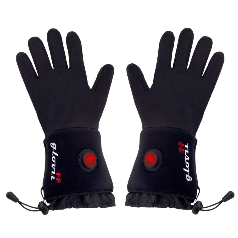 Heated universal gloves