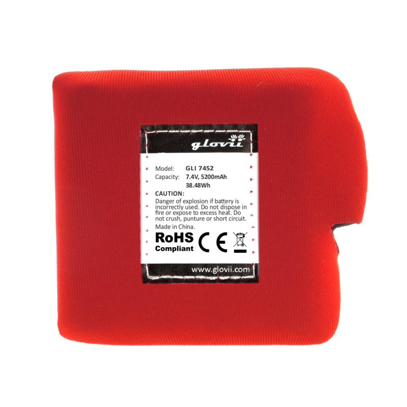 Battery for heated jacket