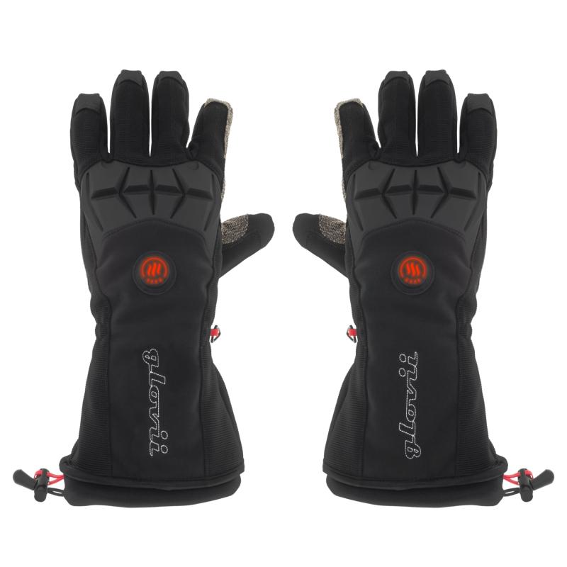 Heated work gloves