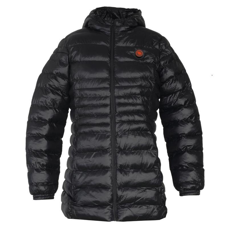 Heated women's jacket