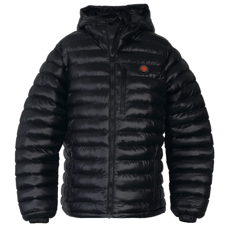 Heated men's jacket