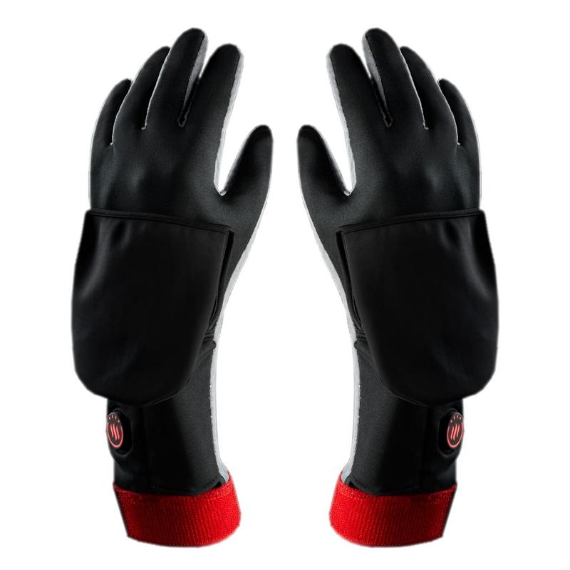 Ogrzewane rękawice uniwersalne z wodoodporną osłoną