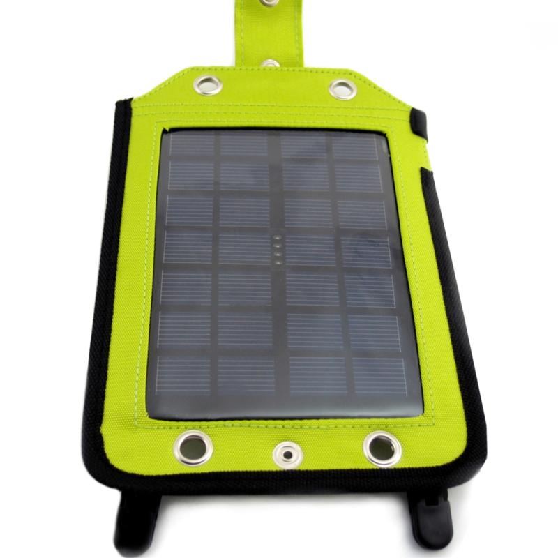 solarpaneel 2 5w mit powerbank 3000mah ausgang usb 5v. Black Bedroom Furniture Sets. Home Design Ideas