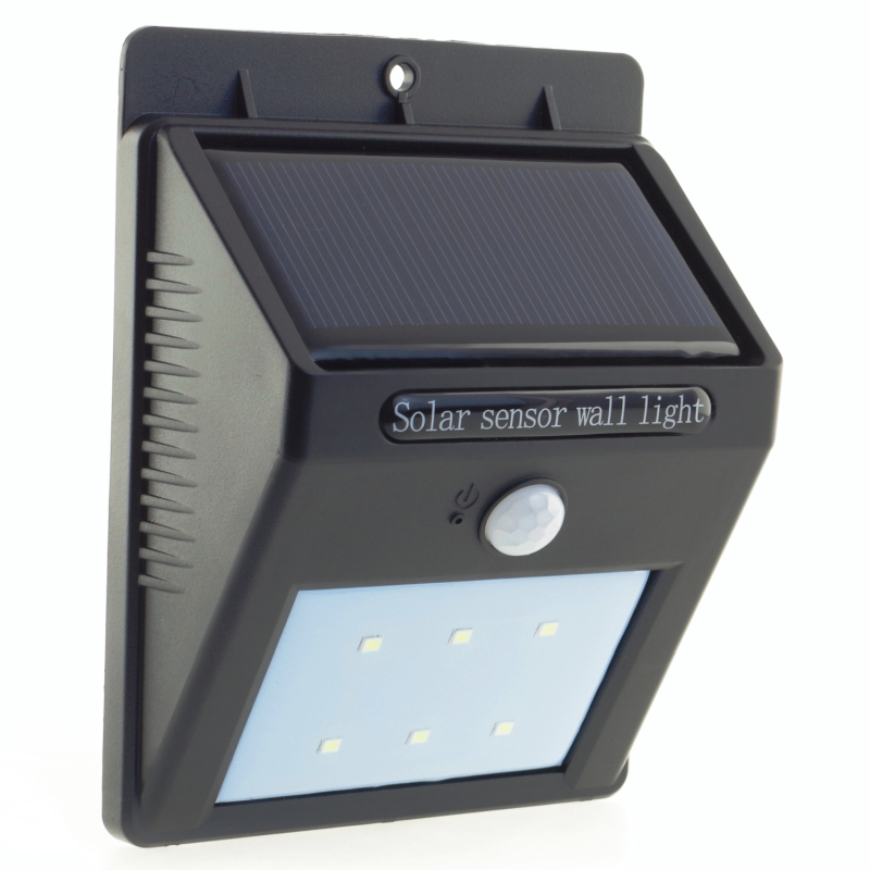 Solar sconce